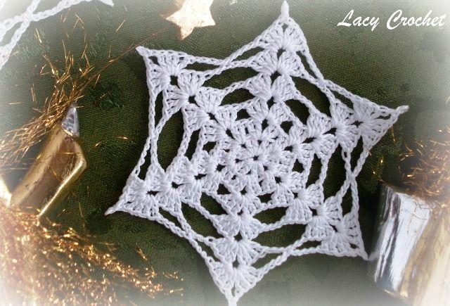 crochet snowflake   Things I like to do   Pinterest   Crochet ...