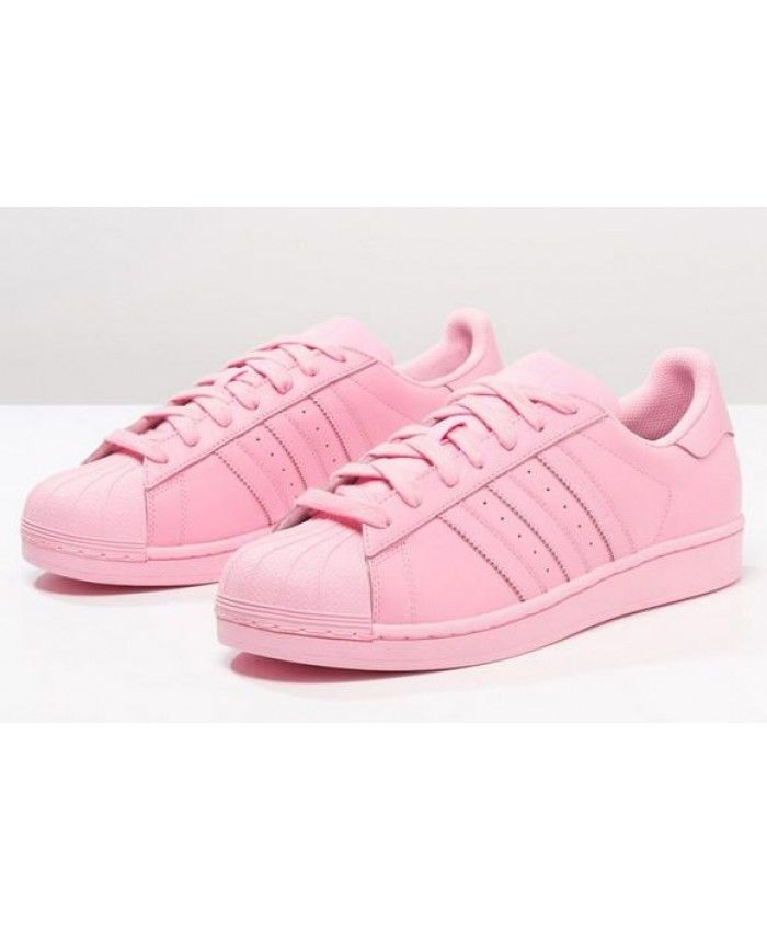 93a2ee7352ef9f New Arrival Adidas Superstar Womens Pink Cheap Sale T-1338