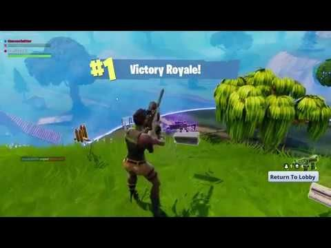 Fortnite 5 Kills In 15 Seconds For The 1 Victory Royale Win