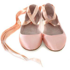 shoes, Pink ballet flats