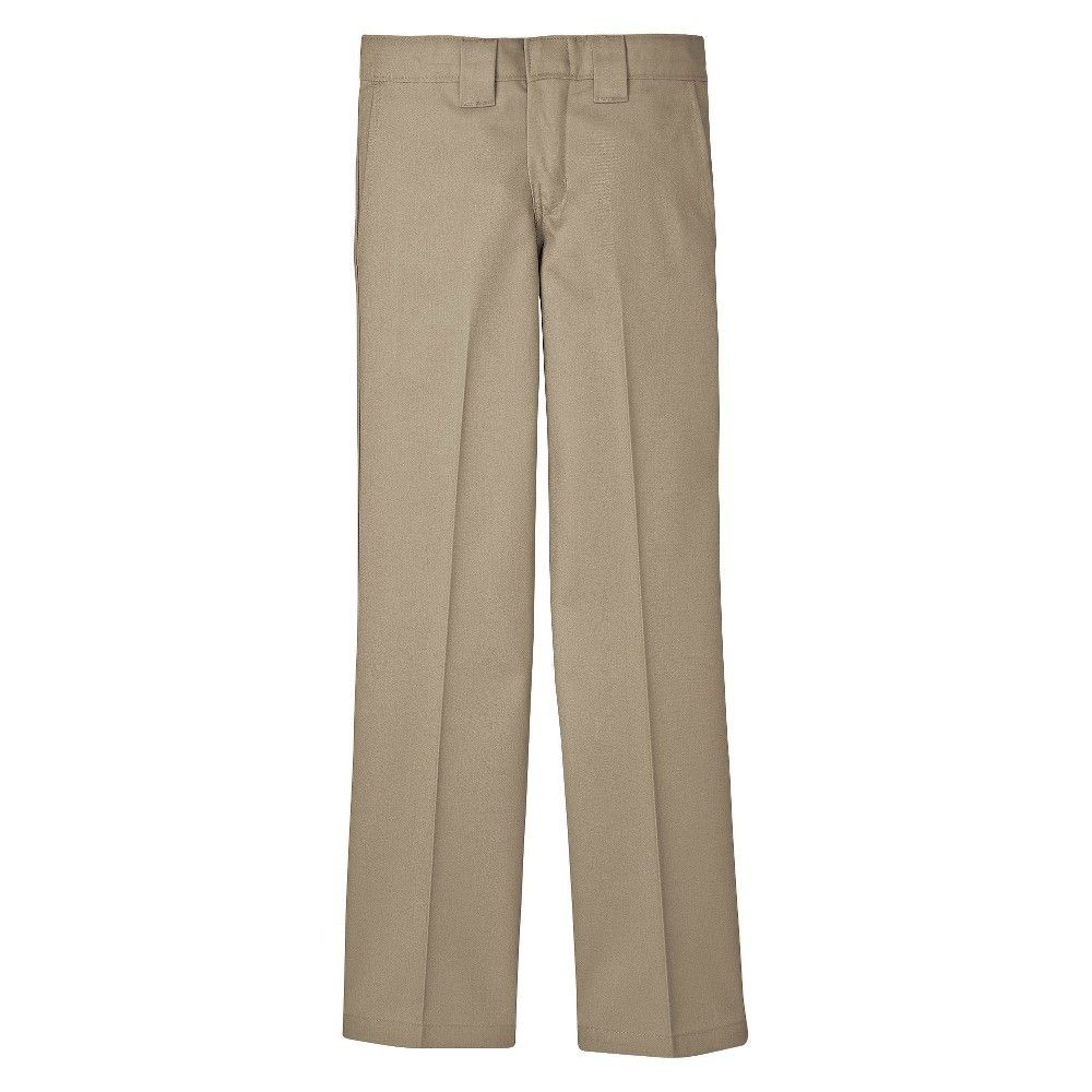 Dickies Boys' Slim Straight Pant - Desert Sand, Boy's, Size: 10
