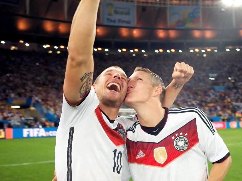 Basti With A 4 Stars In Maracaca Stadium On July 13 2014 The