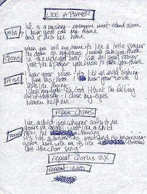 Pin By Anne Skye On Madonna Madonna Like A Prayer Madonna Songs