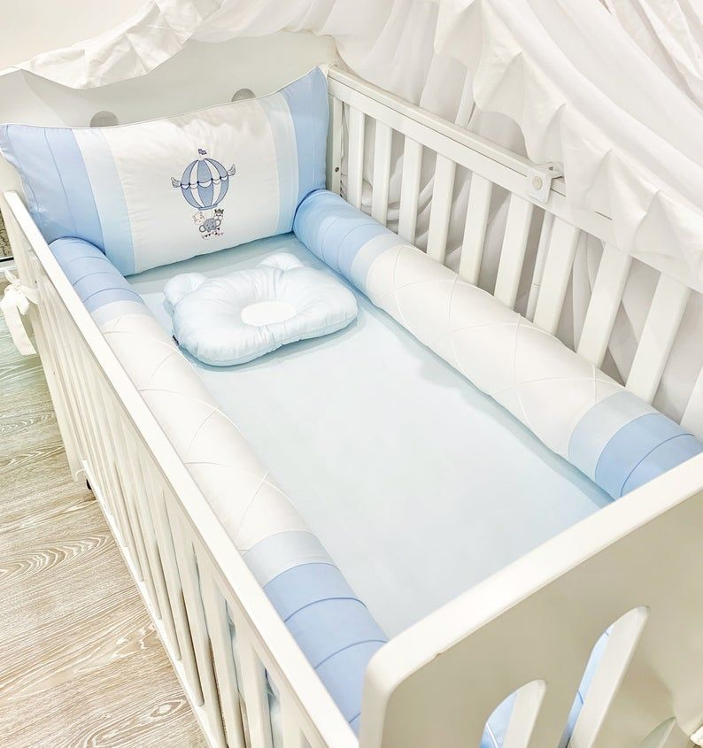 boy crib bumper set baby boy cot