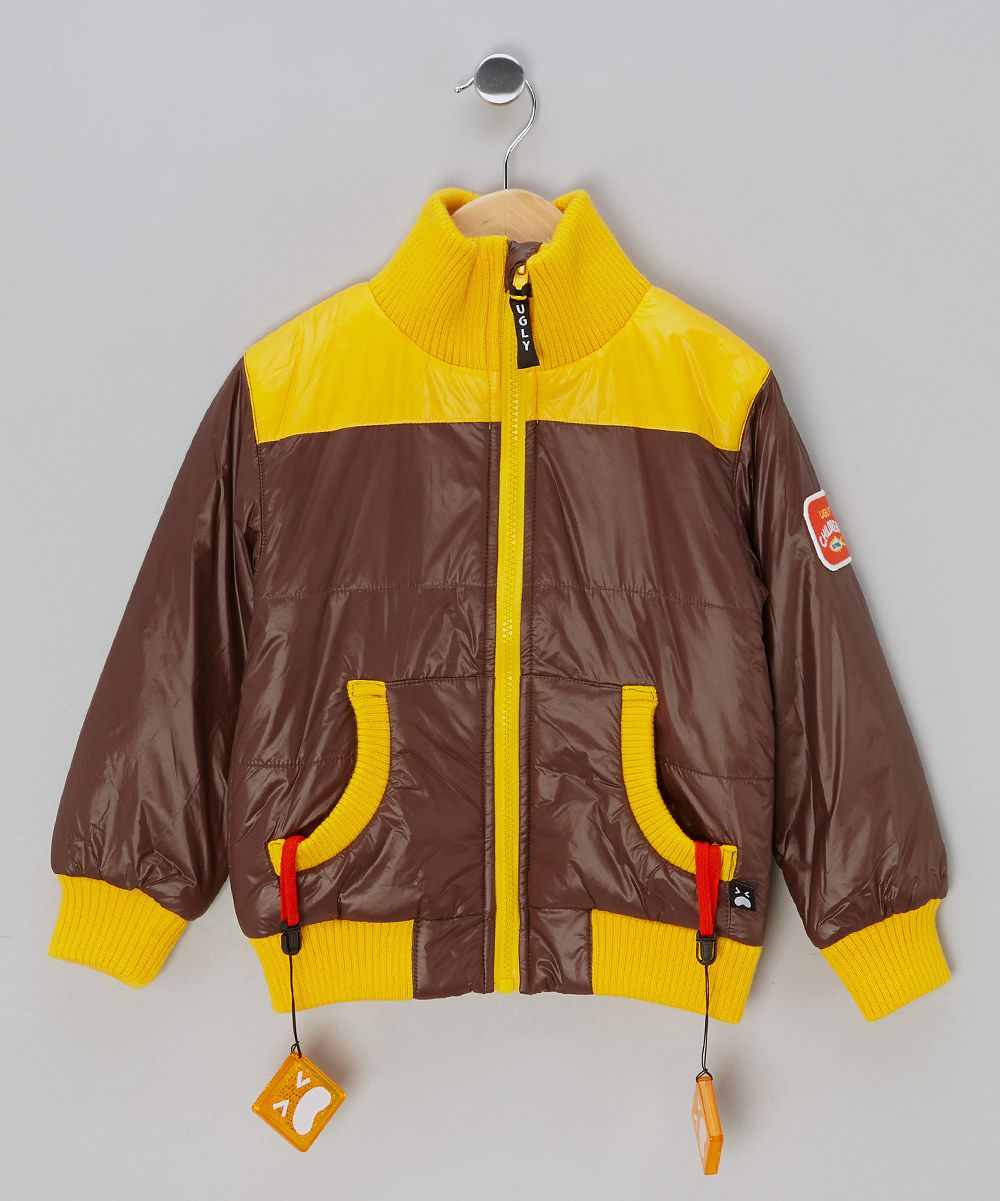 Brown Yellow Jacket Toddler Boys By Ugly Children S