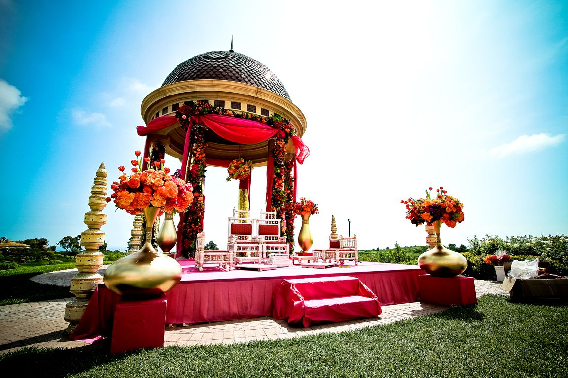 indian wedding photography pictures at pelican hill newport beach