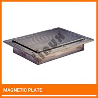 Magnetic Plate Manufacturer Magnetic Plate India   Magnetic plate is very useful to removing weekly magnetic impurities present in conveyed materials. #magneticequipment #magneticplate