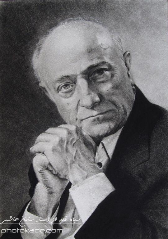 نقاشی سیاه سفید با راپید