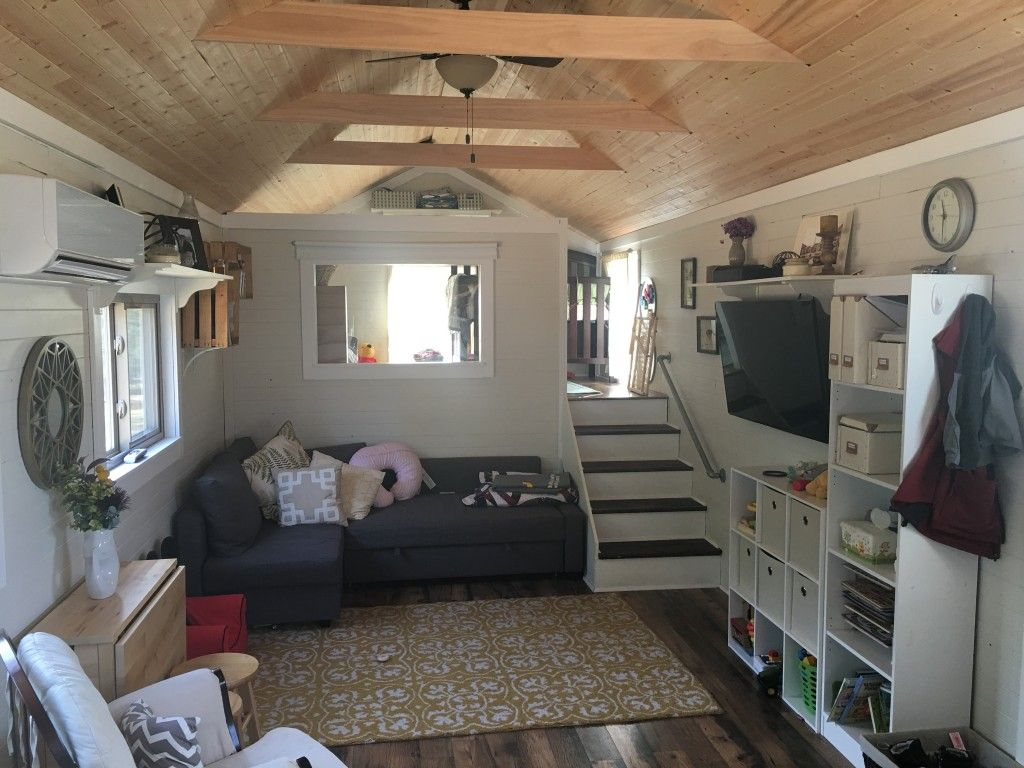 39 Tiny House W Loft On Gooseneck Tiny House General