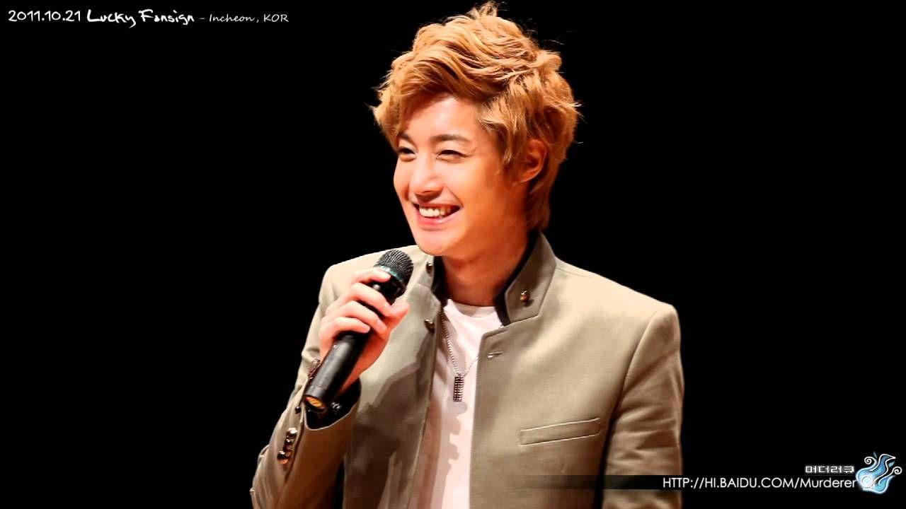 2011.10.21 Kim Hyun Joong @ LUCKY Fansign - Incheon, KOR - Part 2