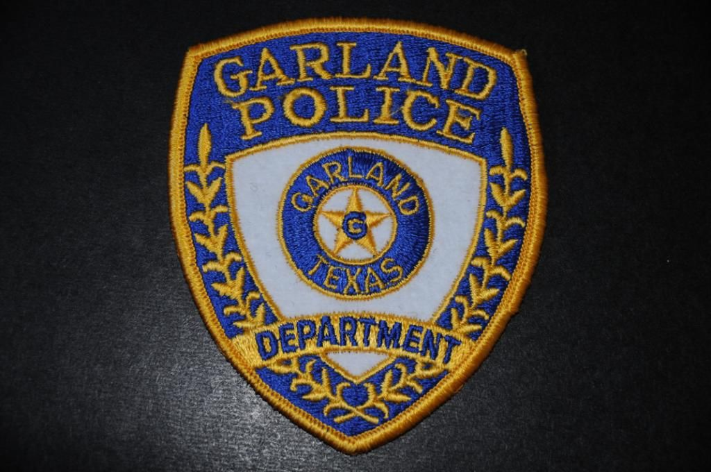 City Of Garland Texas Police Police Police Patches Texas Police