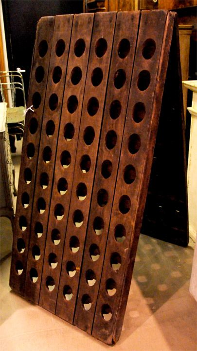 Antique French Champagne Riddling Rack Sold French Antiques