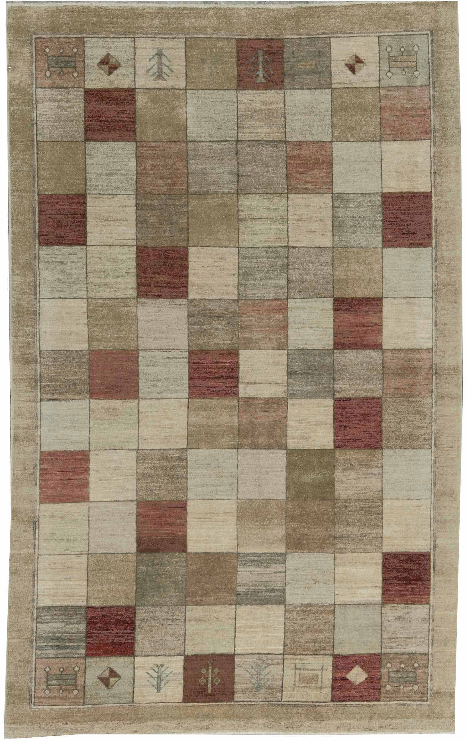 Contemporary Hand Woven Rug 5 4 X 8 7 Woven Rug Rugs Hand Weaving