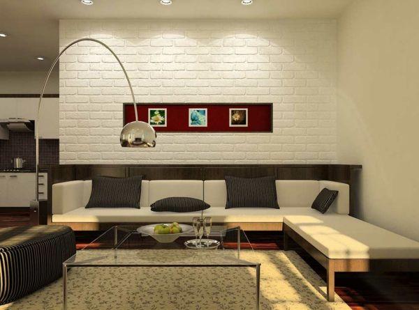 einmalige-wohnzimmer-wandgestaltung Wohnzimmer gestalten Pinterest - wohnzimmer wandgestaltung