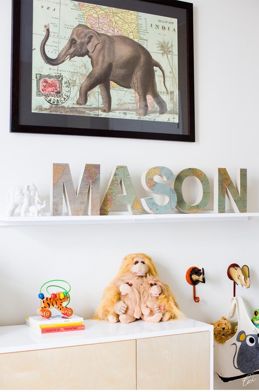 The Making of Ceci Johnsons Baby Nursery - Step 5: The Final Nursery