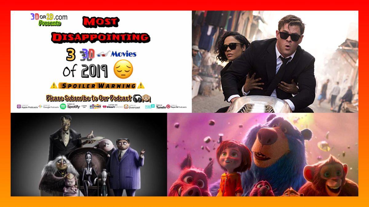 #3dmovies #3dmovie #3dfilms #3dfilm #3dcinema #worst #mostdisappointing #disappointing #wonderpark #mib #mibinternational #meninblack #meninblackinternational #addamsfamily #theaddamsfamily