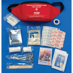 Red First Aid Pouch - Bilingual