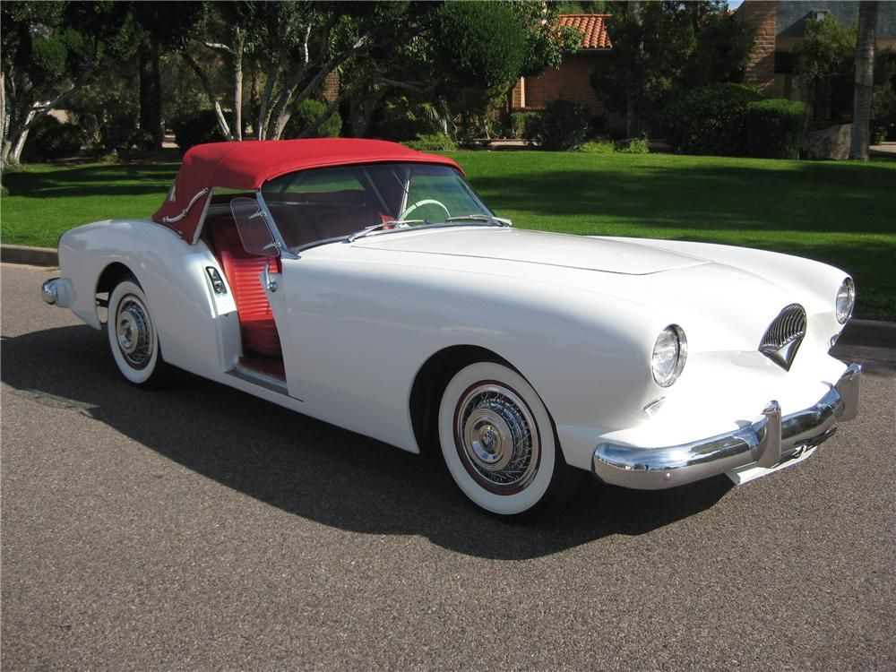1954 KAISERDARRIN Convertible... Fiberglass body, big