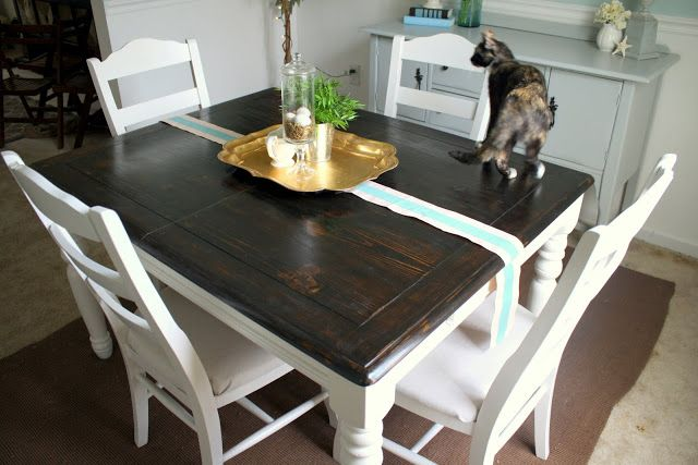 Refinishing The Dining Room Table This, Refinishing Dining Room Table