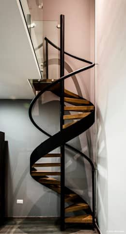Escaleras modernas 15 Ideas geniales para casas con poco espacio - escaleras modernas