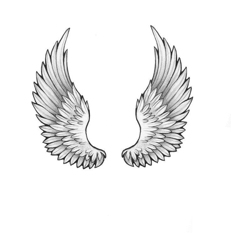 эскиз крылья ангела картинки отличным вариантом
