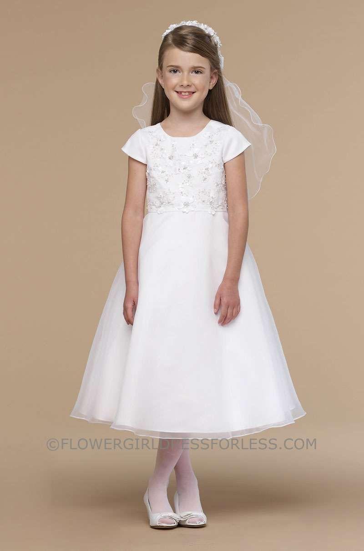 a9b5ff2e72 UA 283 - Us Angels Flower Girl Dress Style 283 - Size 7-14 - Flower Girl  Dress For Less