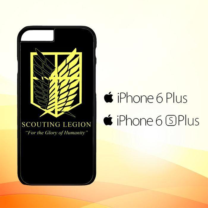 5029ff79749 Attack on Titan Scouting Legion E0786 iPhone 6 Plus