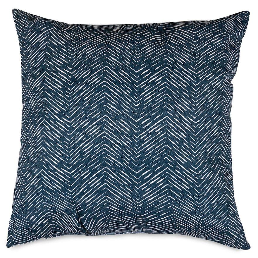 Majestic Home Goods Chevron Decorative Soft Throw Pillow Large 20 X 20 Black Pillows Throw Pillows Soft Throw Pillows