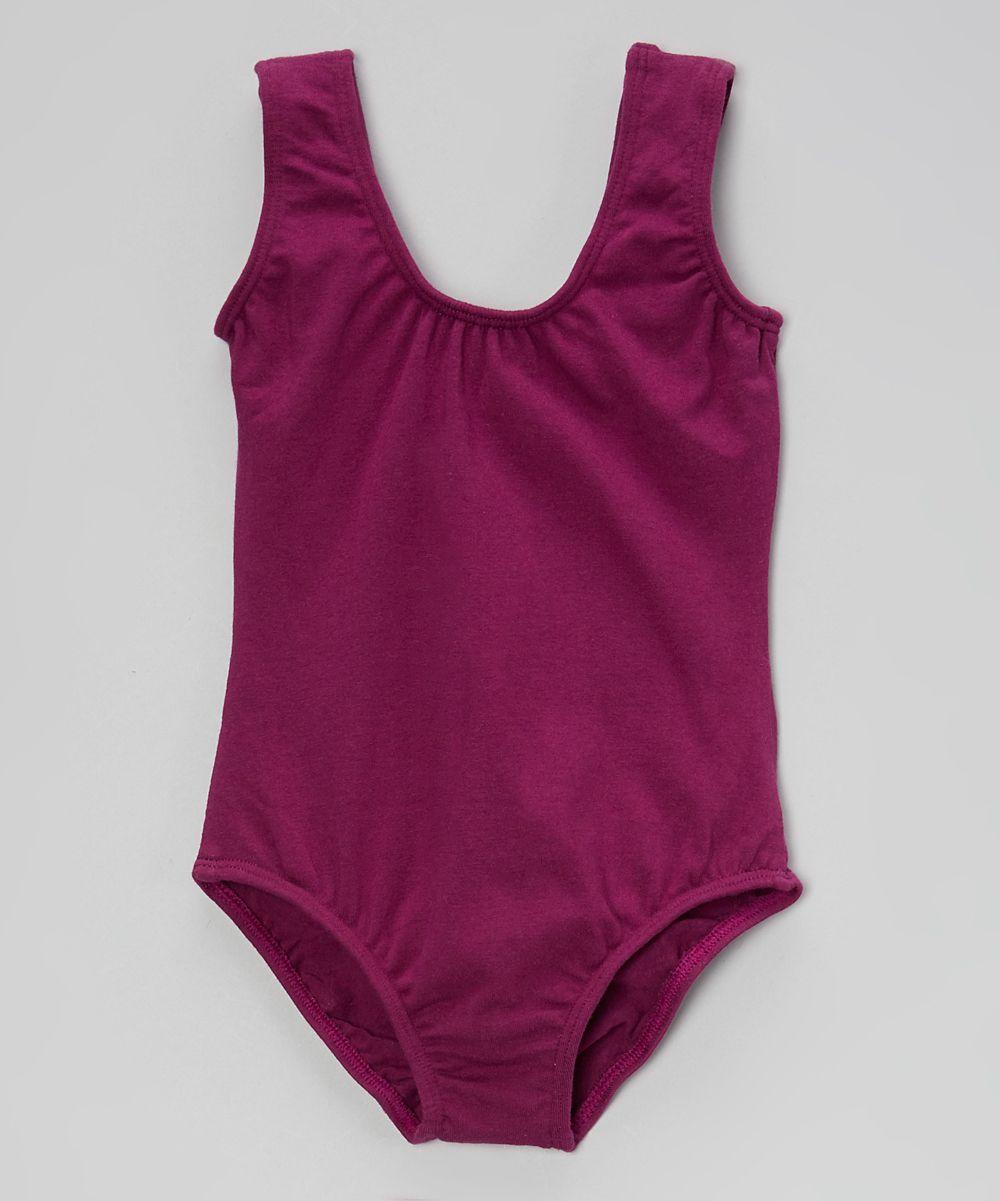 Purple Tank Leotard - Infant & Girls