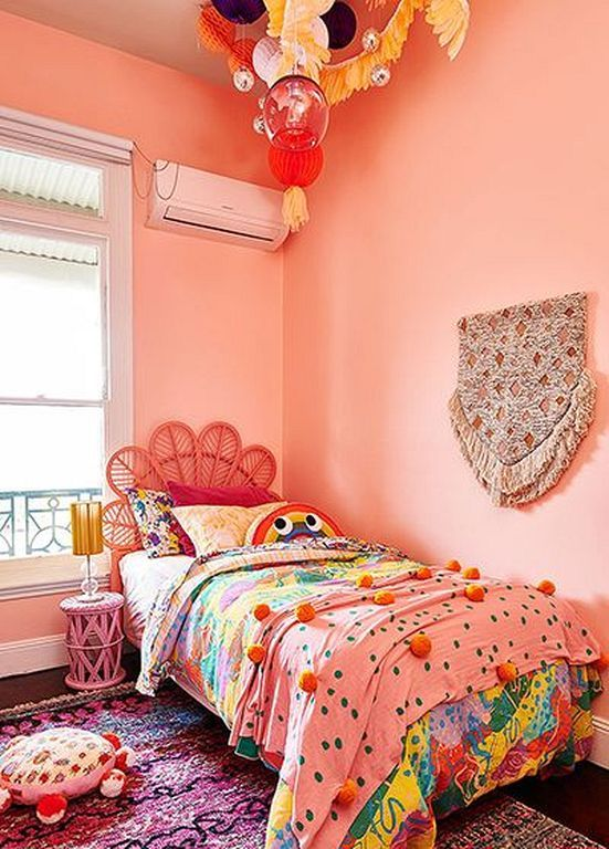 30+ Fun And Cute Boho Bedroom Design Ideas For Kids   Boho ...