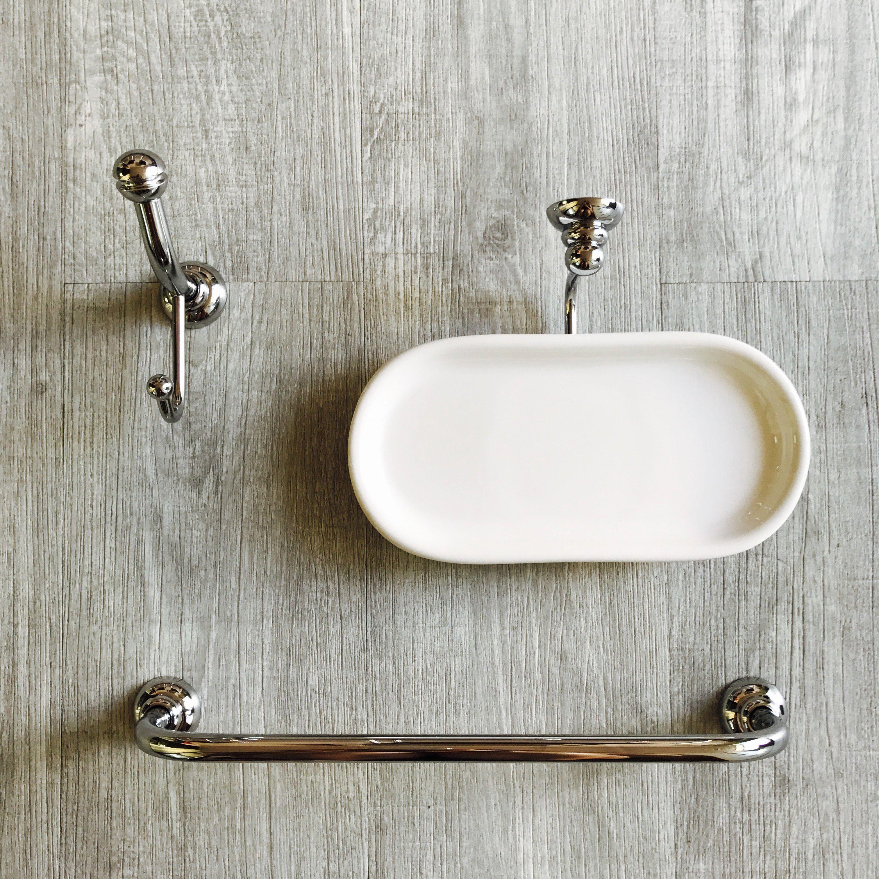 Accessori Bagno In Ceramica Bianca.Porta Salviette Versione Bidet Complementi Arredo Bagno