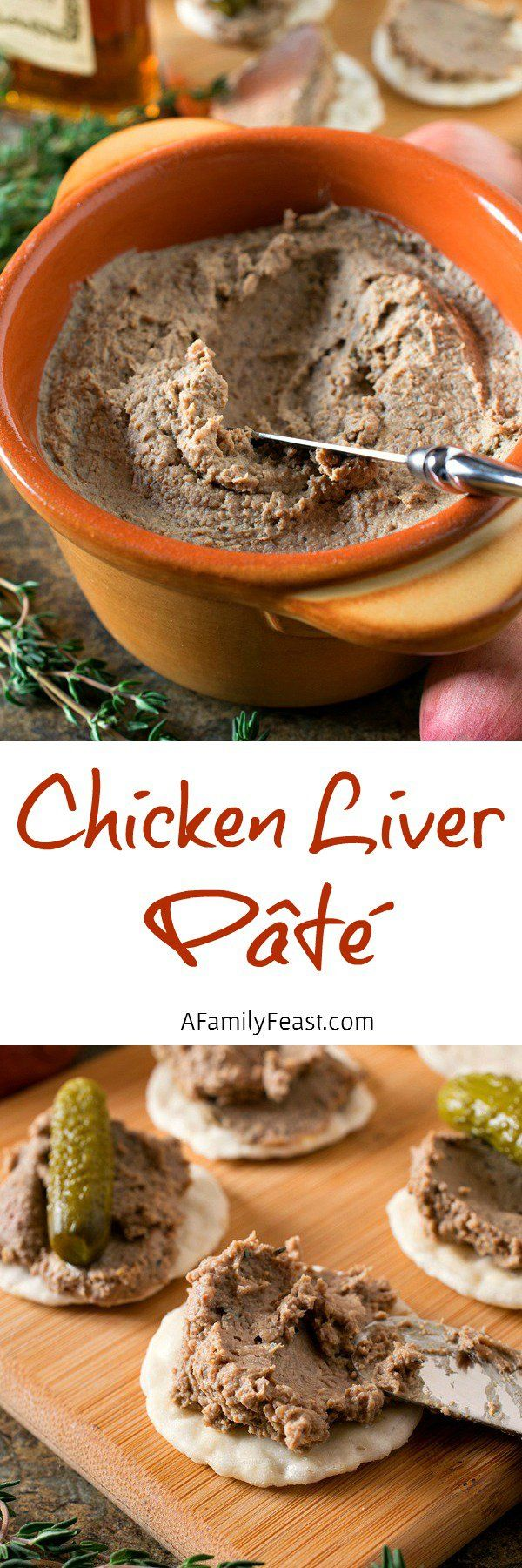 Recipe for easy chicken liver pate