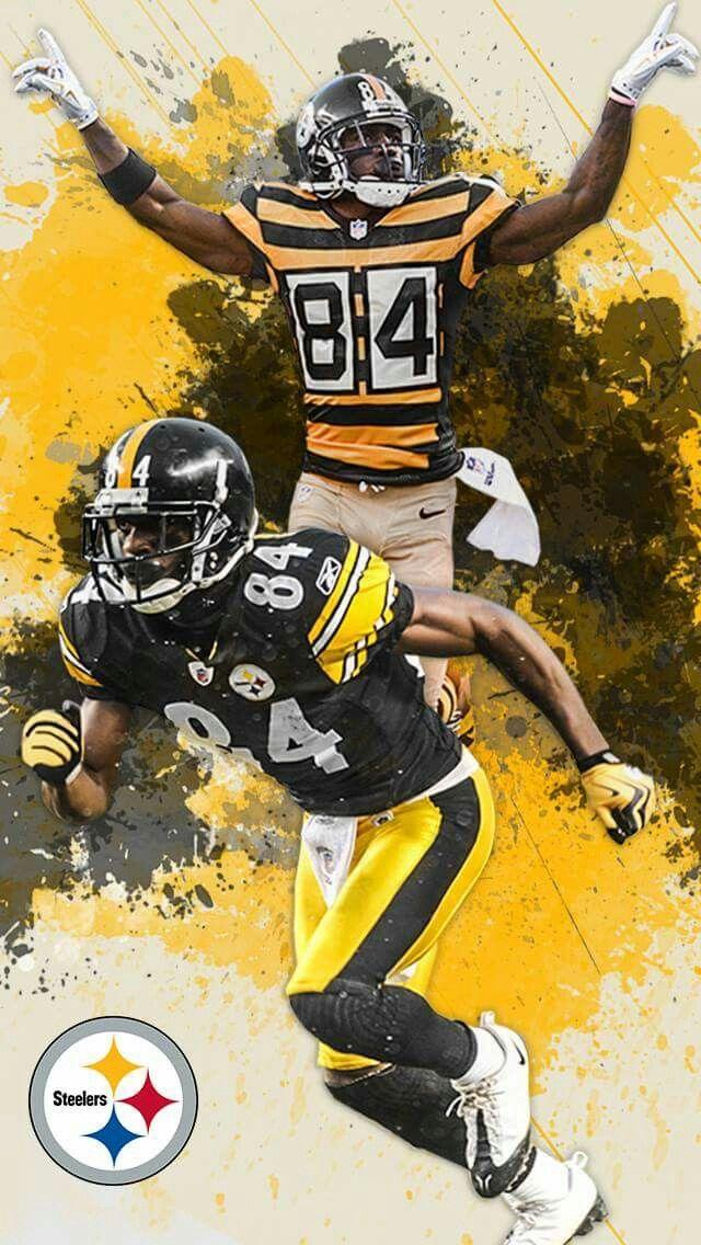 Antonio Brown Wr Antonio Brown Pittsburgh Steelers Funny Pittsburgh Steelers Players