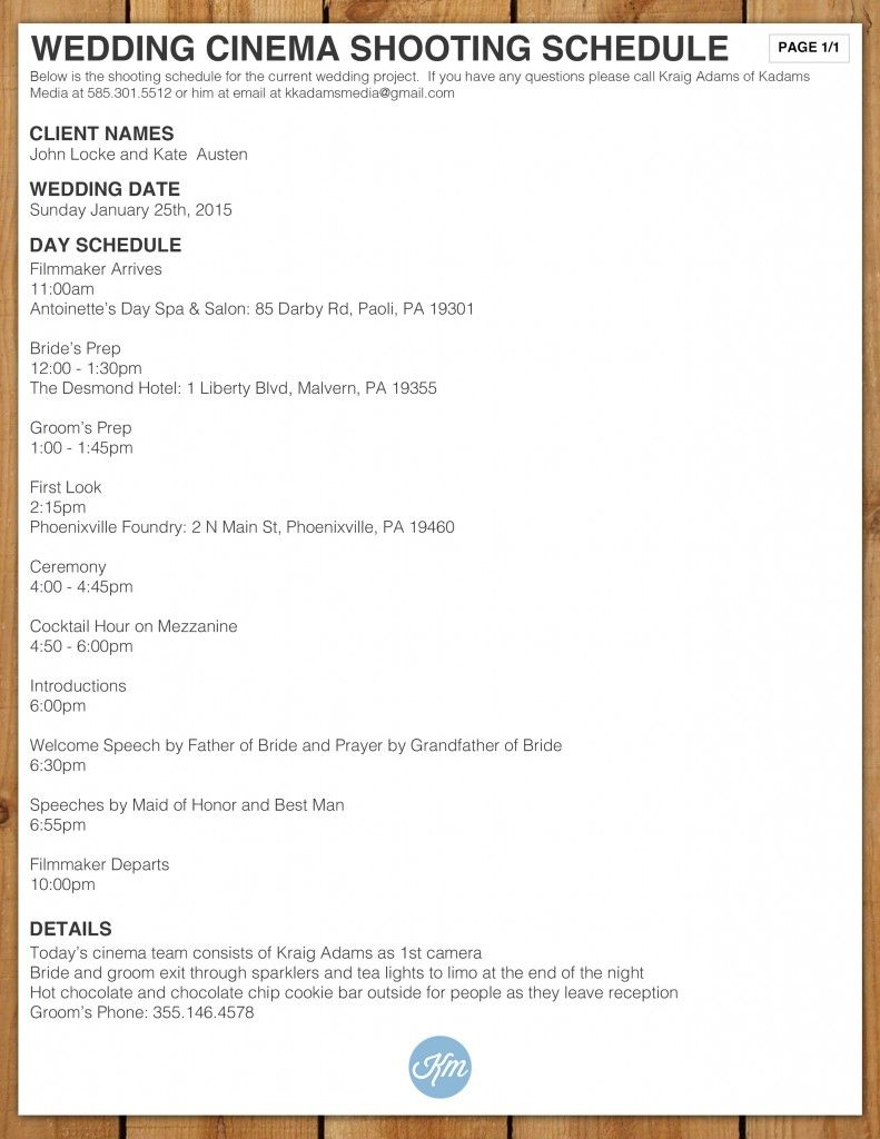 Wedding Film School.Wedding Cinema Shooting Schedule Videography Cinema Wedding