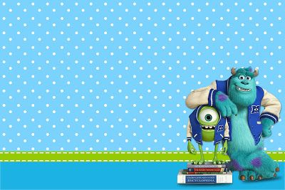 Monster University: Free Printable Party Invitations.