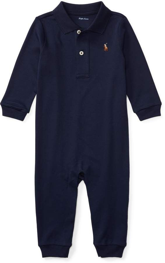 914160834 Kids Clothes Stores Near Me. Ralph Lauren Cotton Interlock Polo Coverall