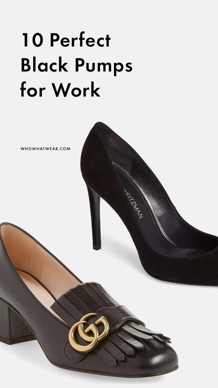 classic check out run shoes The Best Black Pumps For Work | Who What Wear #women'spumpsforwork ...