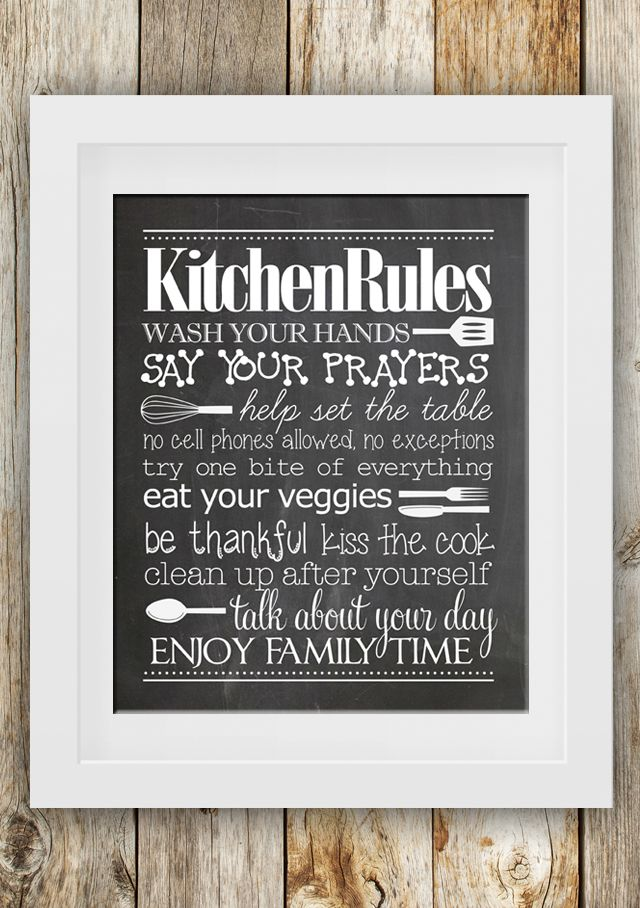 kitchen-rules-free-printable1.jpg 640×908 piksel
