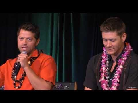 honcon jensen ackles and misha collins full panel 2017 youtube rh pinterest com John Winchester Journal Supernatural supernatural season 2 music guide