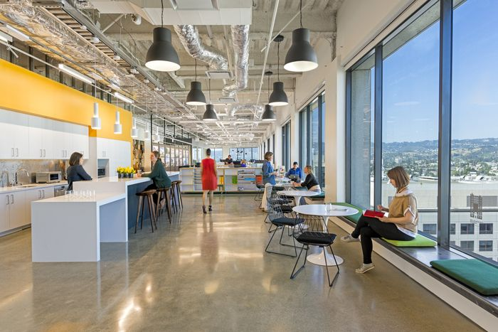 Office tour gensler offices oakland office designs - Oakland community college interior design ...