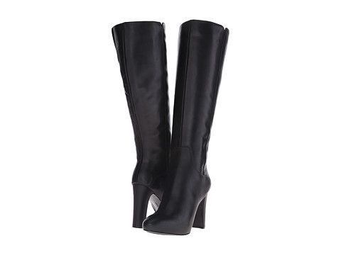 Nine West GetMGirl Black Leather - 6pm.com