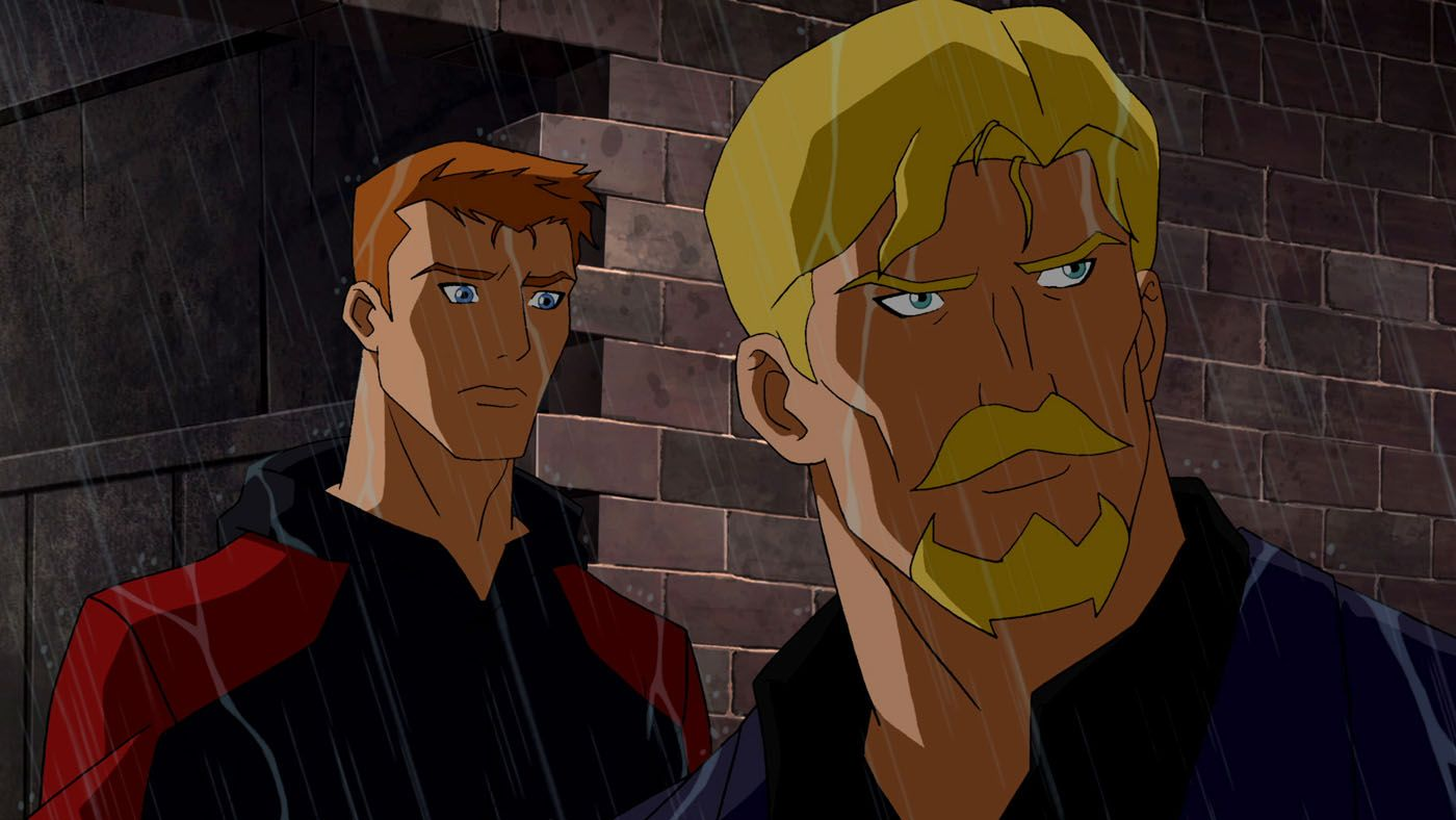 Roy Harper(Red Arrow) and Oliver Queen | DC Animation ...
