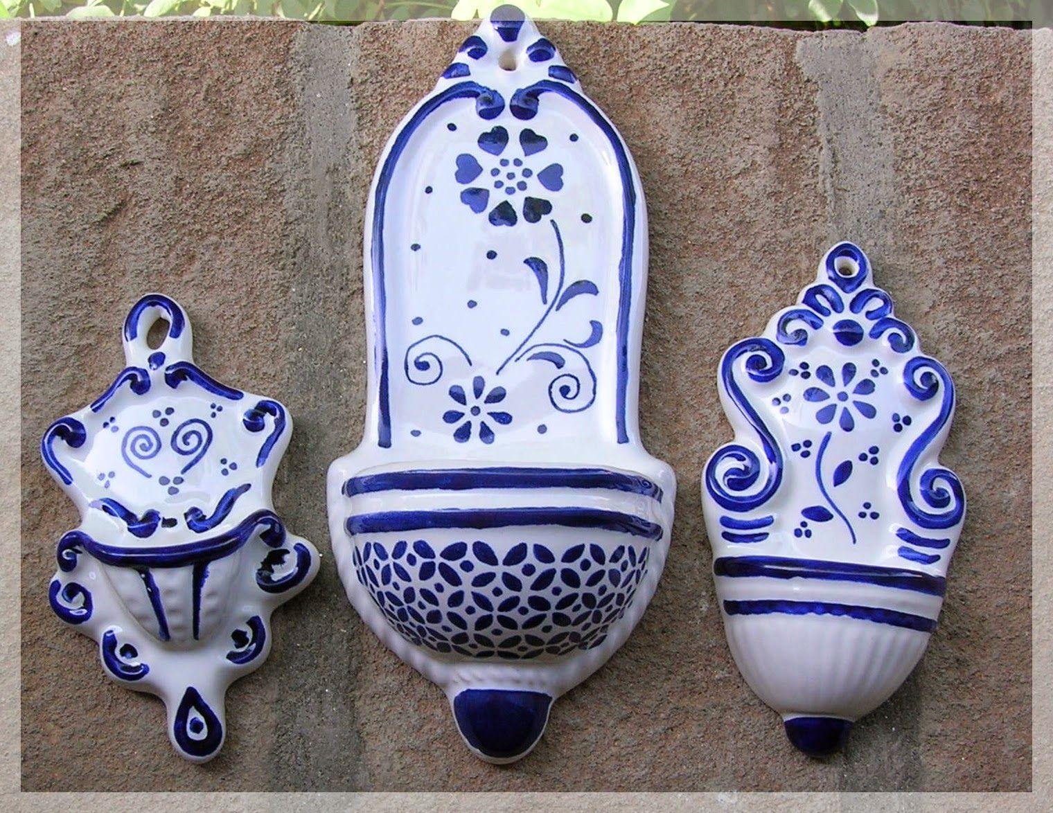 Le ceramiche di giorgia acquasantiere tca