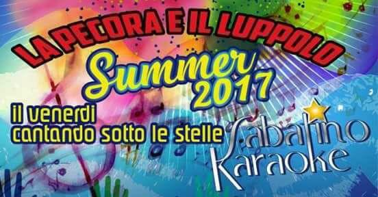 La Pecora e Il Luppolo - Mosciano Sant' Angelo SABATINO KARAOKE | Eventi Teramo #eventiteramo #eventabruzzo