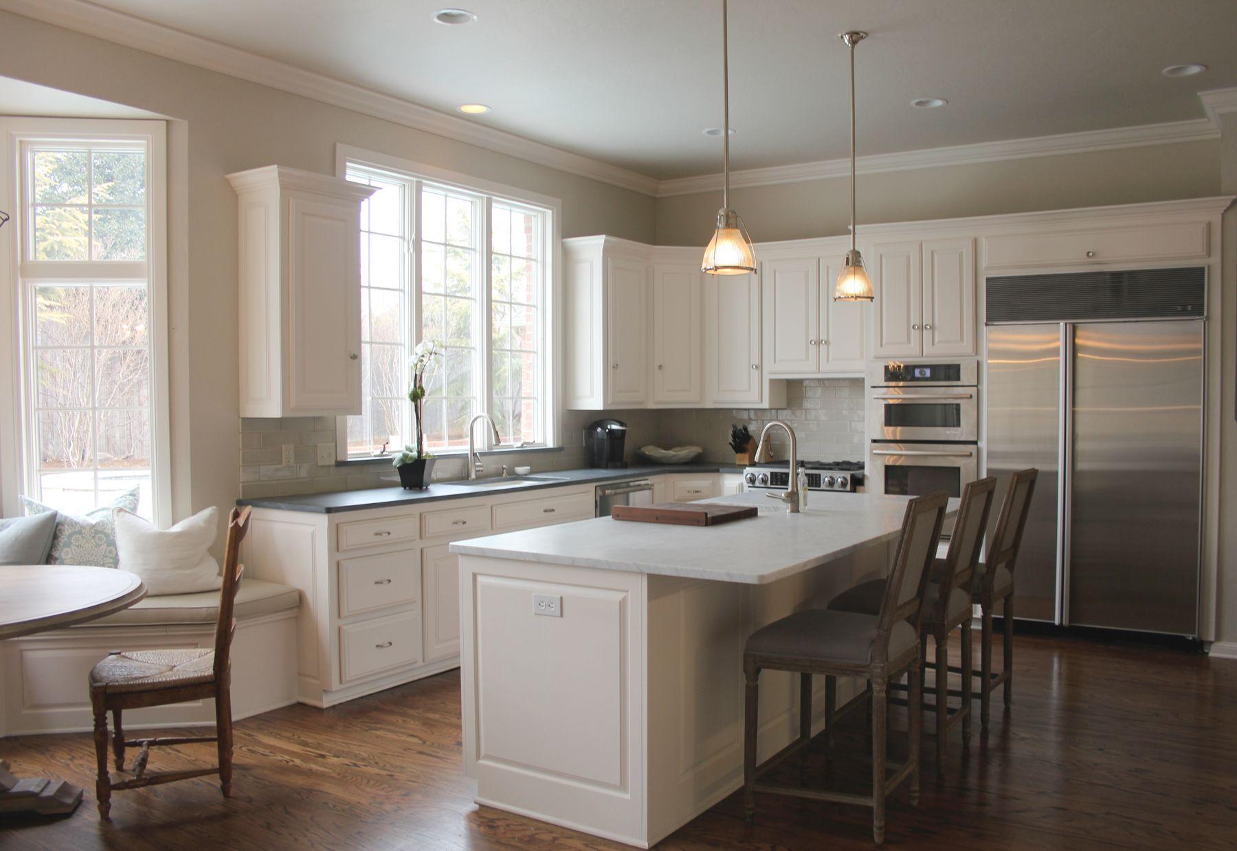 Best White Kitchen A Remodel Revere Pewter Kitchen Kitchen 400 x 300