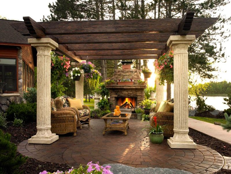 Outdoor Gazebo Is Perfect For South