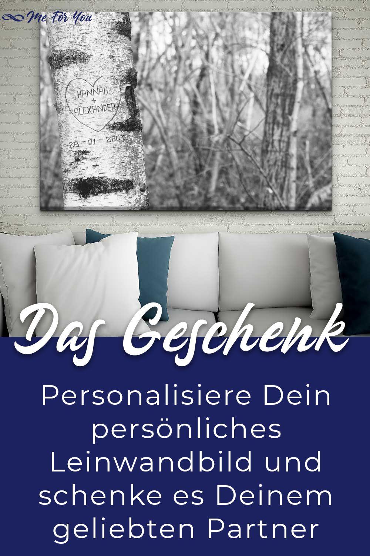 personalisierte leinwand als geschenk fur paare leinwandbilder bilder meinfoto auf