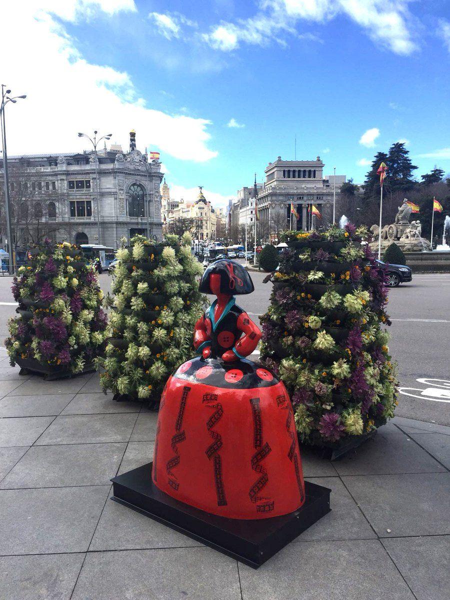 Meninas Madrid Gallery Plz De Cibeles Abril 2018 Con