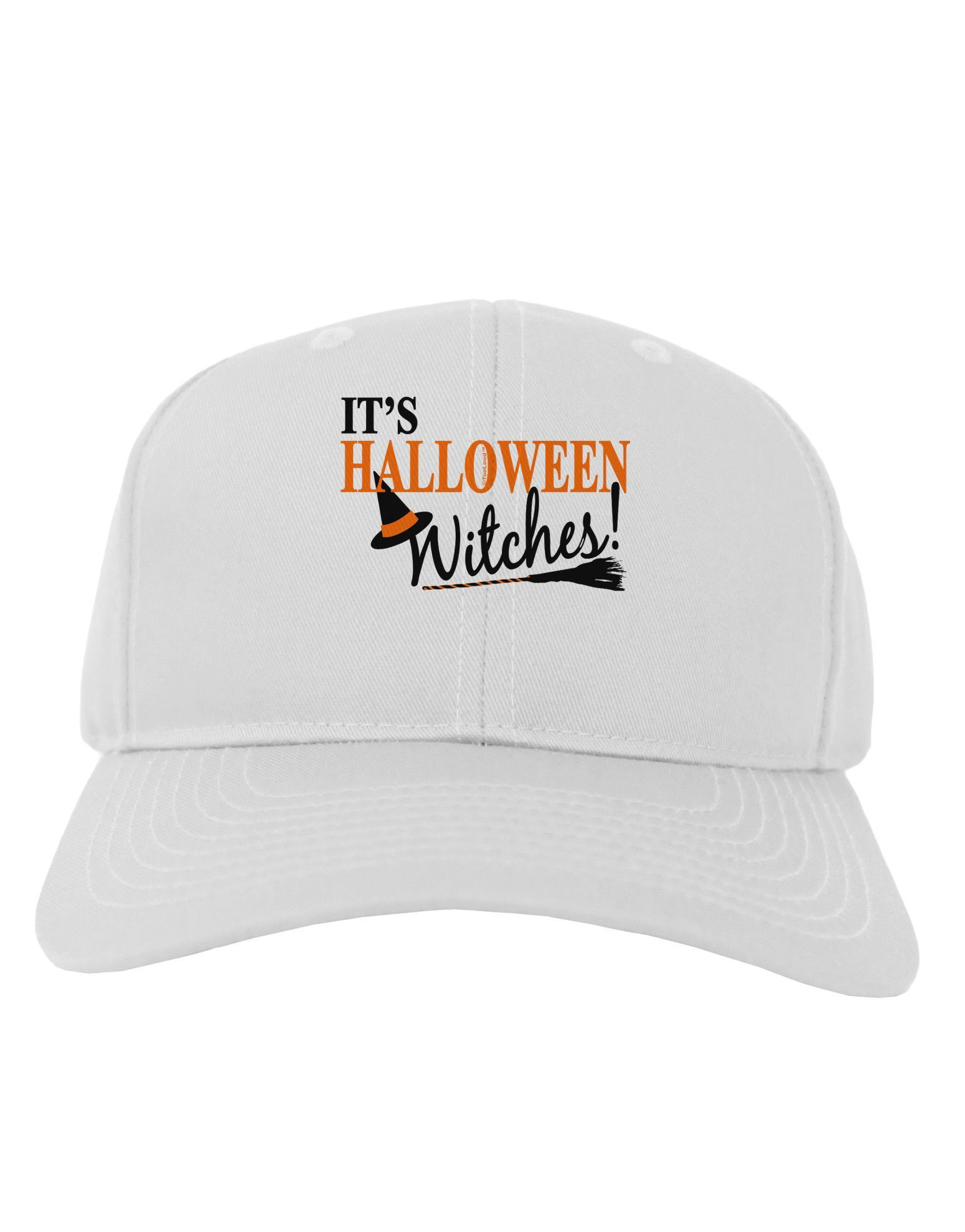 5a6b0f89d03 It s Halloween Witches Hat Adult Baseball Cap Hat