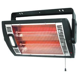Dr Infrared Heater 10 000 Watt Wall Mounted Electric